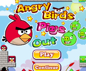 Angry Birds Pig out